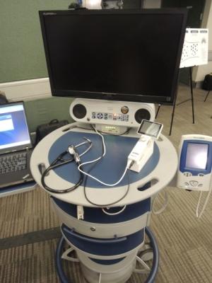 Hệ thống hội nghị truyền hình từ xa mà Cisco trưng bày tại cuộc họp báo, hiện đã có mặt trên thị trường dưới dạng phiên bản phần mềm. Phiên bản này được chứng nhận có thể làm việc với nhiều loại thiết bị y khoa số.